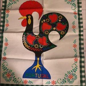 Kitchen Tea towel Rooster/ heavy duty towel❤️